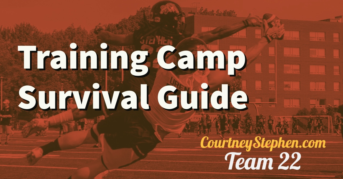 6 Tips to Survive Training Camp